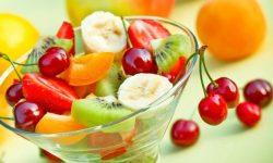 buah sarapan