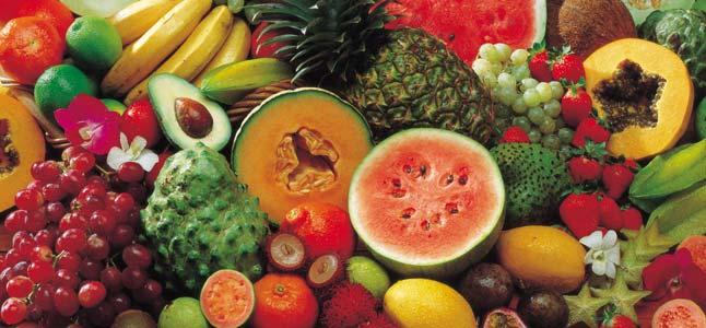 buah tropis