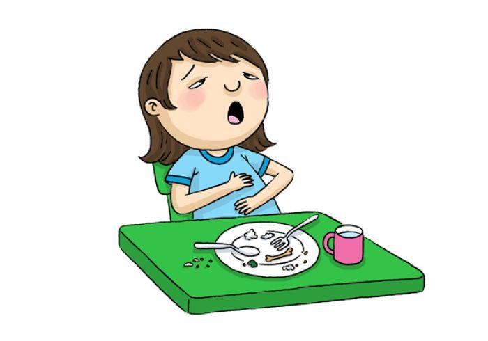makan kekenyangan