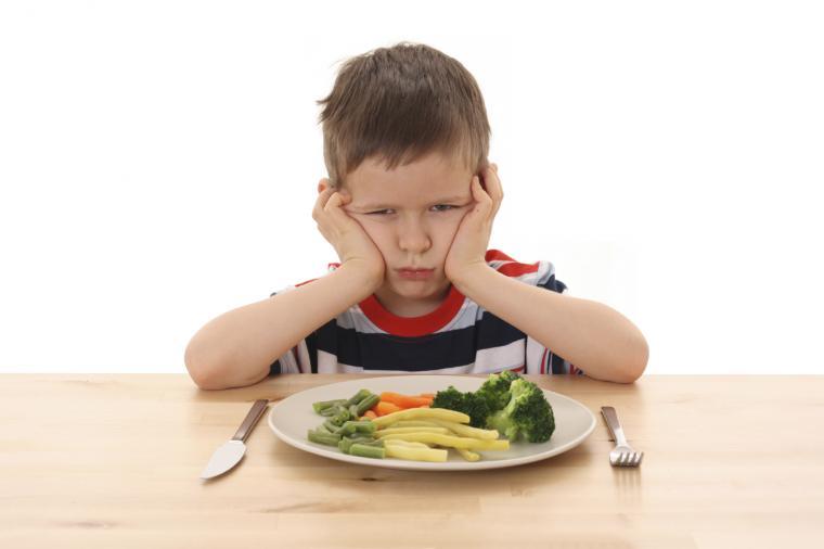 tidak suka sayur